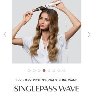 T3 SINGLEPASS WAVE curling wand